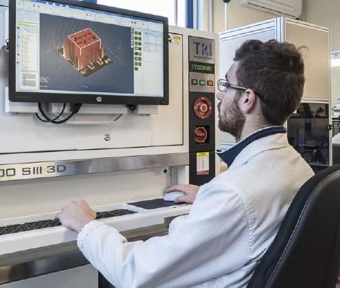 Ispezione ottica automatica e collaudi funzionali